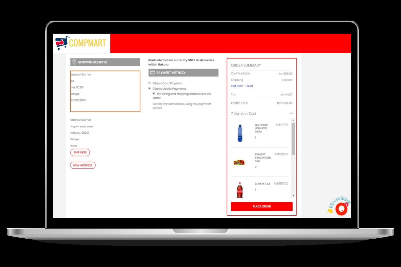 E-COMMERCE-Checkout